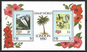 FIJI SOUVENIR SHEET #623 (NH) FROM 1990