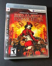 Command & Conquer Red Alert 3 [ Ultimate Edition ] (PS3) USED