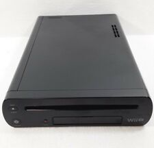 WII U - DELUXE 32GB - BLACK - CONSOLE ONLY - TESTED - FREE SHIP!