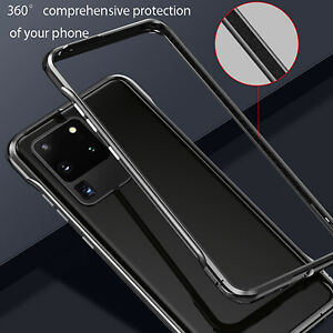 For Samsung Galaxy Note 20/Note20Ultra Metal Bumper Frame Case Cover Protective