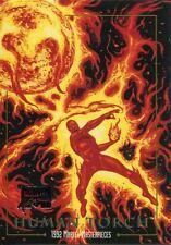 Marvel Masterpieces 2016 Joe Jusko Commemorative Buyback Card #31 Human Torch