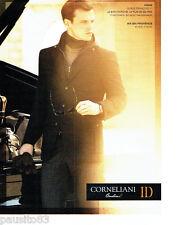 PUBLICITE ADVERTISING 066  2011  Corneliani Id   manteu pret à porter homme