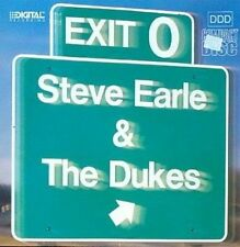 Exit 0 by Steve Earle & the Dukes (CD, Oct-1990, MCA)