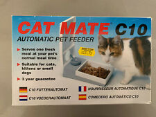 Pet Mate C10 Automatic Pet Feeder for Cats and Small Dogs - White