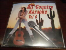 ALL COUNTRY KARAOKE DISC VOL 6 CD+G 16 TRACKS