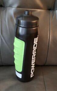 Powerade Power Grip Squeeze Bottle,Black green, 32 oz