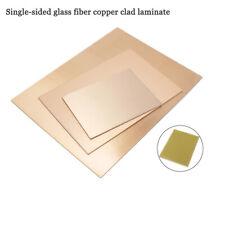 Pcb Printed Circuit Board Single Sided Glass Fiber Copper Clad Laminate Fr 4