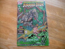 JURASSIC PARK #1 (9.4 NM)TOPPS COMICS-6/93-UNOPEND W/CARDS-GEORGE PEREZ-GIL KANE