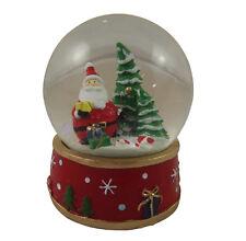 Gisela Graham Musical Santa Snowglobe - Christmas Decoration - Collectable