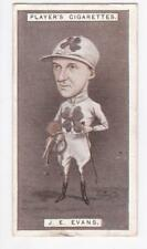John Player & Sons Cigarette card - Racing Caricatures 1925 #15 John Evans
