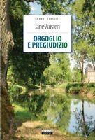 Orgoglio e Pregiudizio Jane Austen Nuovo Libro Crescere Edizione