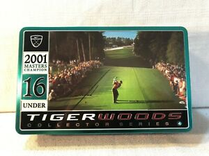 Dozen 2001 Augusta Masters Champion Tiger Woods Collector Series Nike Golf Balls