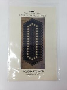Lake View Primitives Rosemary's Wish Table Runner Pattern - New