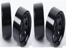 New RC4WD 6 Lug Wagon 2.2 Stl Stamped Beadlock Wheels Black (4) Z-W0190