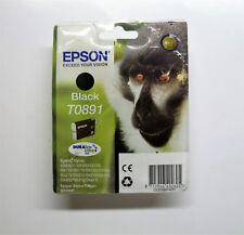 Epson T0891 schwarz Affe S20 S21 SX100 SX105 SX115 SX200 SX205 SX215 OVP 11/2019