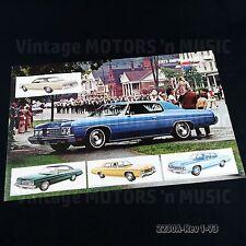 1973 Chevrolet Impala & BelAir Poster Brochure #2230A NOS Uncirculated NO FOLDS