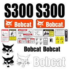 Bobcat S300 Skid Steer Set Vinyl Decal Sticker 25 Pc
