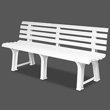 Garden Bench Seat Outdoor Furniture Patio Plastic Benches Comfort Balcony Seater