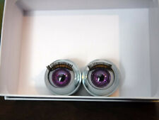 "New ListingCustom Painted Doll Eyes for 18"" American Girl Doll - Glitter Purple"