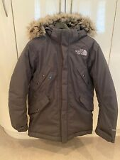 The North Face Parka Goose Down Parka Jacket. Colour Grey. Mens. Size Small