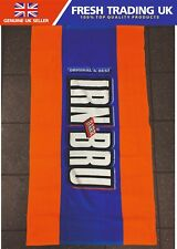 Irn Bru Beach Towel - Official Merchandise - Rare Collectors Item - 130cm x 70cm