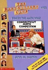 Stacey the Math Whiz (Baby-Sitters Club (Quality)) Martin, Ann Matthews Paperba