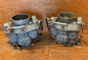 Zenith 32 Carburetors for Porsche 356 - PAIR