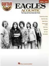 Play-Along The Eagles Learn to Songs Hits Tunes Acoustic Guitar MUSIC BOOK & CD
