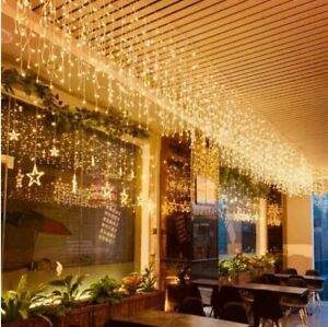 5M LED String lights for Christmas Outdoor & Indoor Curtain, Waterproof