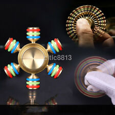 Figet Hand Spinner Finger EDC Metal Bearing Focus Autism ADHD Adult Kids Toy Hot