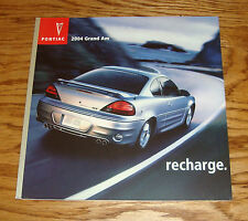Original 2004 Pontiac Grand Am Deluxe Sales Brochure 04
