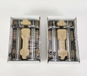 (Lot of 2) IKEA Stallarp Besta Chrome Plated 4 Legs Total 203.905.74