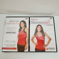 Lot of 2 Body By Bethenny & Bethenny's Skinny Girl Workout DVD Exercise Videos