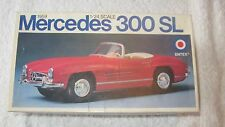 1:24 Scale 1959 MERCEDES 300 SL Car Plastic Model Kit Entex 59