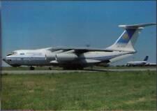 (vp3) Airplane Postcard: Kazakstan Airlines, IL-76TD