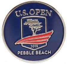 2019 US Open (Pebble Beach) -Flat- (Navy) Logo Golf BALL MARKER
