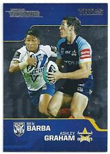 2013 NRL Traders Chart Toppers (CT1/9) Ben BARBA / Ashley GRAHAM Tries