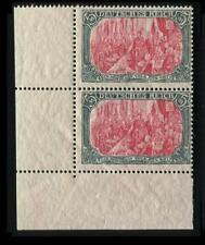 DR 97 B II Eckrand Paar postfrisch, leicht bugig #e501