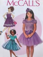 McCalls Sewing Pattern 0257 Childrens Girls Dress Size 3-6 Uncut