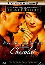 NEW DVD - CHOCOLAT - Juliette Binoche, Lena Olin, Johnny Depp, Judi Dench, Alfre