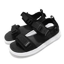 New Balance SDL600BK D Black White Mens Womens Sandal Summer Slide