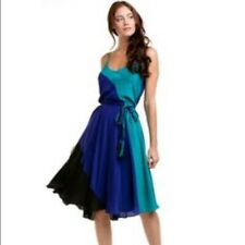 Yumi Kim - Leon Color Block Teal Dress - Size: Small