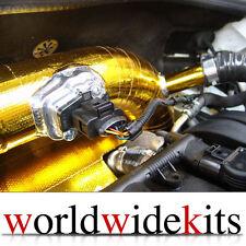 "1 X METALLIC GOLD HEAT REFLECTOR BARRIER TAPE ROLL 2"" X 15' VW MK4 MK5 1.8T R32"