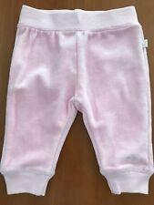 Baby Face (Dutch) NWOT Pink Velour Pants - 0-2 Months