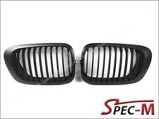 Black Front Kidney Grille for BMW E46 1998-2002 Coupe Pre Facelift Model Only