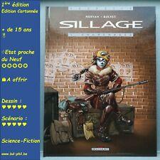 Sillage, 3, Engrenages, Buchet, Morvan, Delcourt, EO, 2000, EN, C