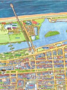 Cityscapes Street Map Of Southport 400 Piece Jigsaw Puzzle 47cm x 32cm