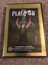 Platoon DVD Gold Edition Tom Berenger Charlie Sheen R4 Postage