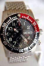 Stingray Master Mariner Automatique Valjoux 7750 Chrono 200 M Diver le Watch Uhr Montre
