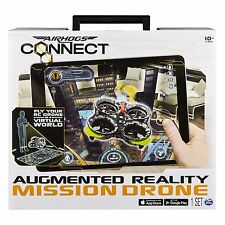 Air Hogs Connect Augmented Reality Mission RC Drone VR Heli iOS Android R/C NEW